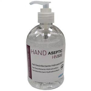 Gel hidroalcohólico para manos